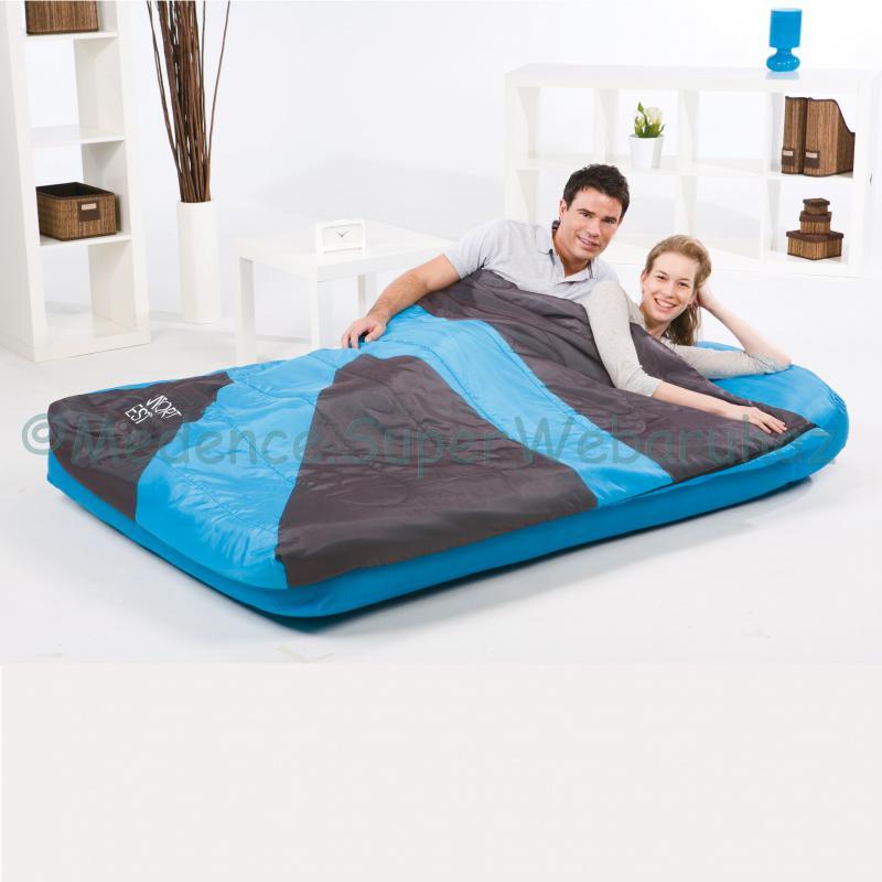 2 személyes matrac hálózsákkal, Aslepa