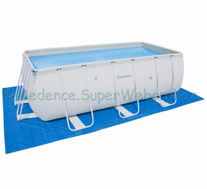 Alátétfólia 500 x 300 cm, téglalap és ovális medencéhez