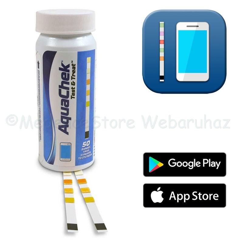 AquaChek Test & Treat - vízelemzés telefonos applikációval