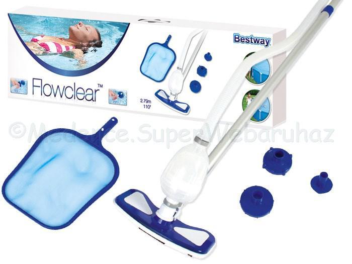 Aquaclean medence tisztító készlet