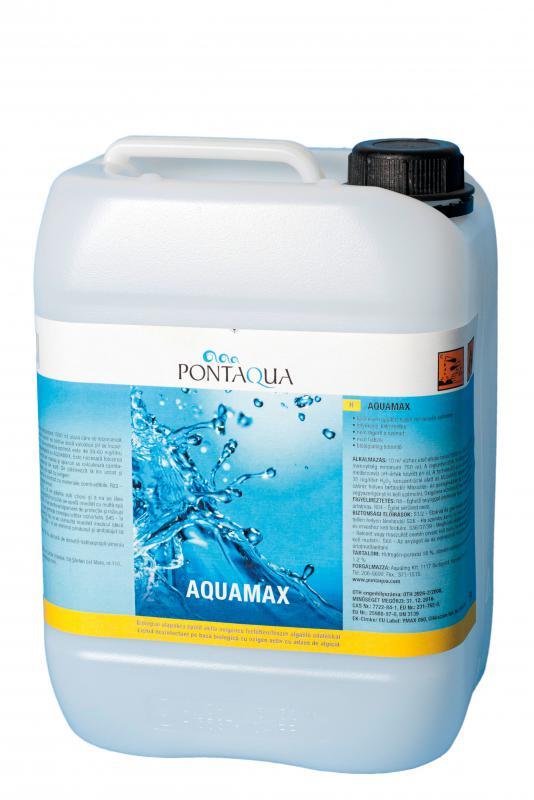 AQUAMAX oxigénes, klórmentes kombi vízkezelő 5l
