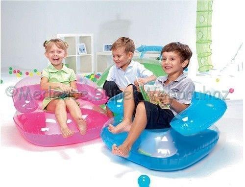 Átlátszó gyermek felfújható fotel