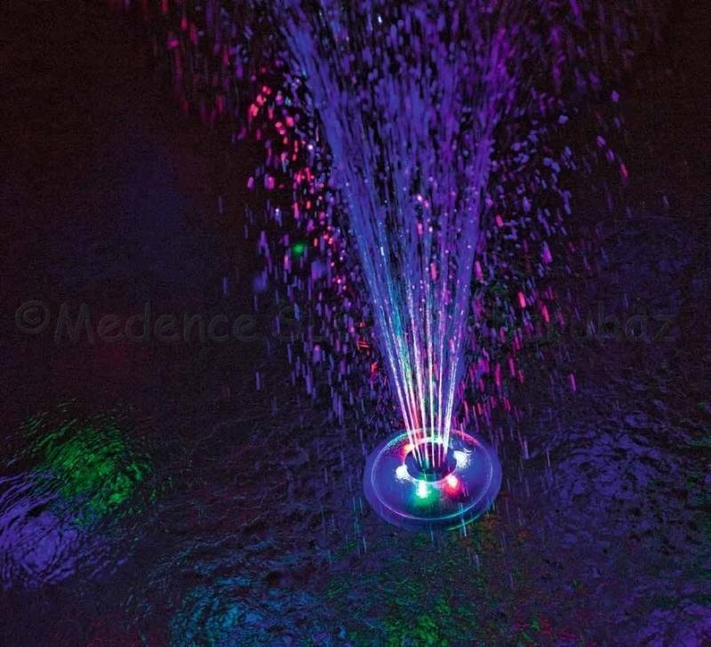 Bestway vízen úszó LED világítás és szökőkút medencébe