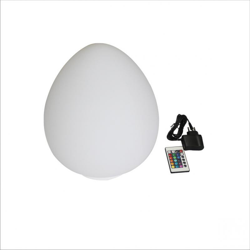Design úszó LED lámpa színváltós KÚP