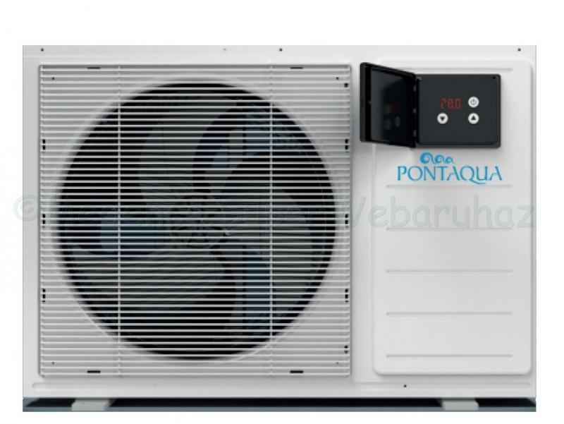 Ecolux hőszivattyú 35 m3 medence méretig, 8 kW