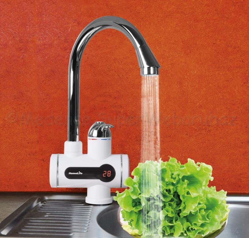 Elektromos vízmelegítős csaptelep DIGITHERM