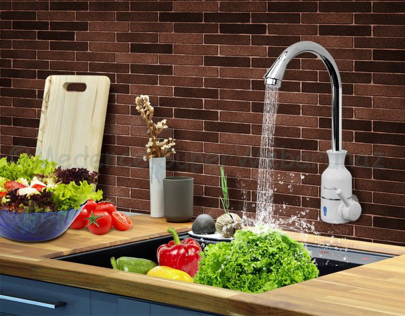 Elektromos vízmelegítős csaptelep WALL THERMO QUICK