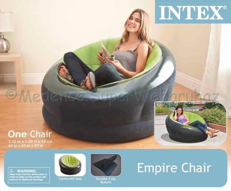 Empire felfújható fotel
