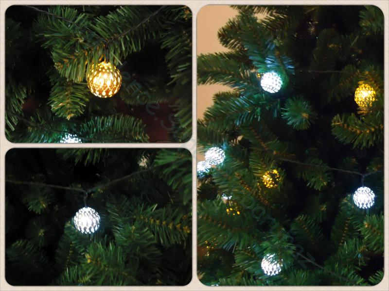Mandala fényfüzér, 9,8 m 50 LED