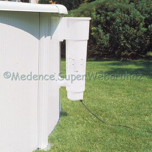White merevfalú medence 7,30 m * 3,75 m * 1,20 m ovál