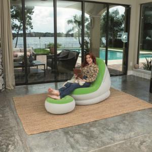 Comfort Cruiser felfújható fotel lábtartóval