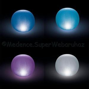 LED labda, felfújható