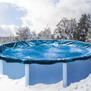 Takarófólia téli/nyári, fémfalas 540 cm Ø medencéhez, extra erős