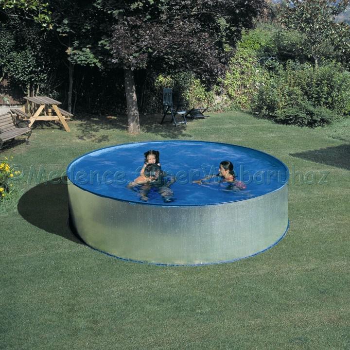 Fémpalástos medence készlet 3,5 m x 0,9 m  Adria