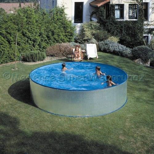 Fémpalástos medence készlet 4,5 m x 0,9 m Velence