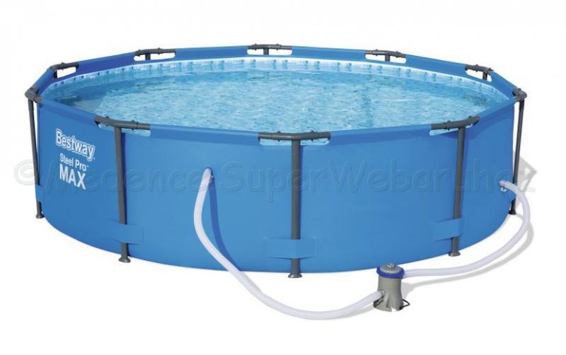 Fémvázas medence 366 cm * 100 cm szűrővel