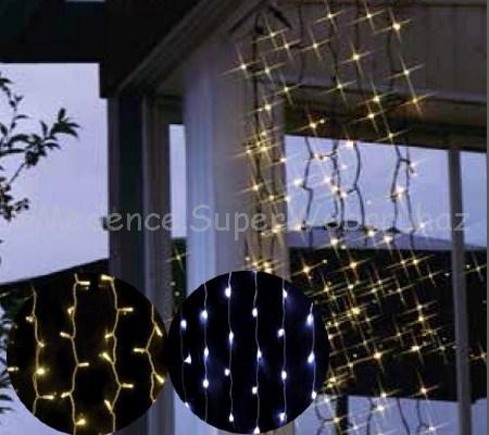 Fényfüggöny 1,5 m * 1,5 m 198 LED