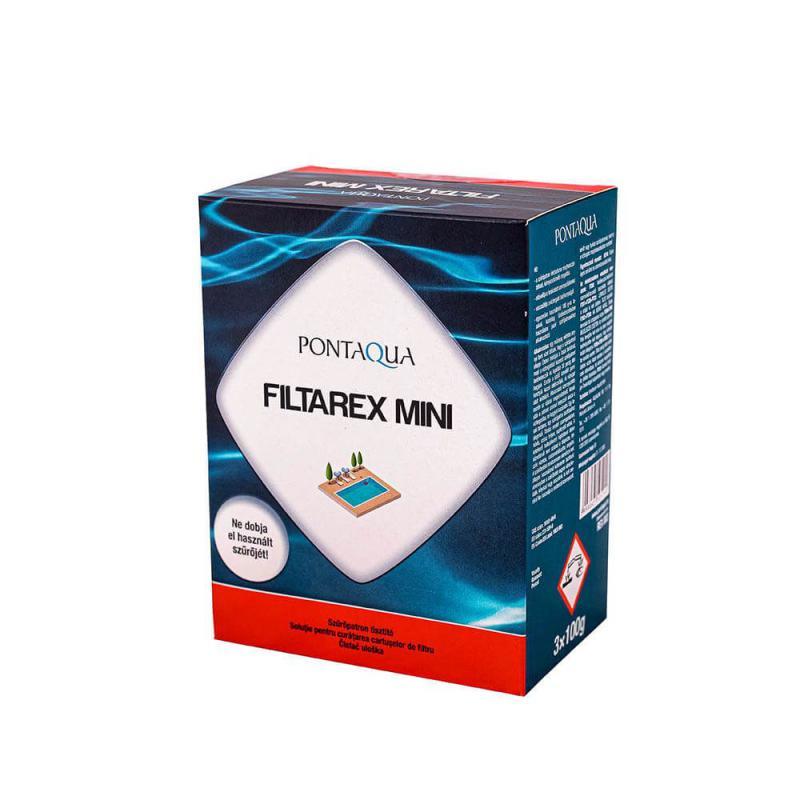 FILTAREX MINI 3x100 g filtertisztító szűrőbetétekkez