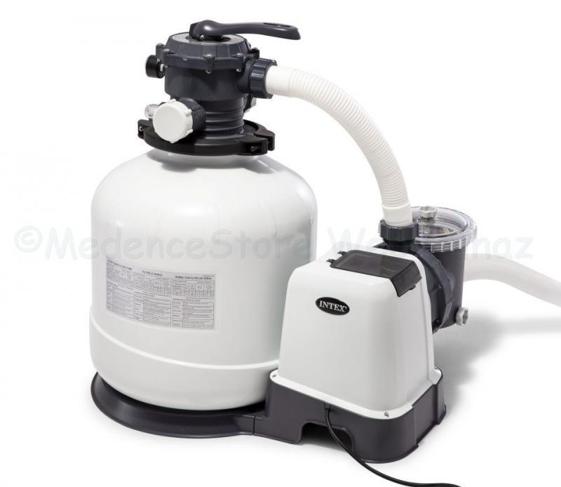 Homokszűrős medence vízforgató KRYSTAL CLEAR  9 m3/h
