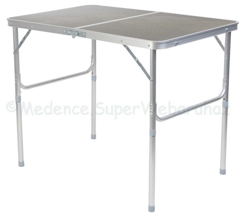 Kemping asztal összecsukható 90 x 72 x 60 cm