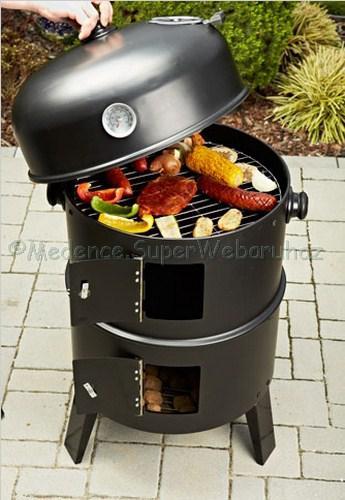 Kerti grillsütő többfunkciós