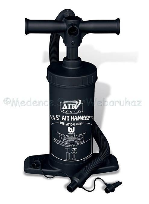 Kézi pumpa két funkciós, 37 cm