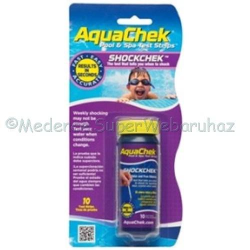Klór mérő tesztcsík AquaChek