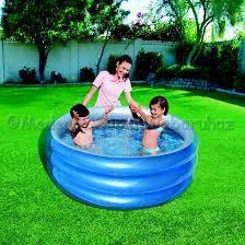 Kör alakú medence metál 150 cm * 53 cm