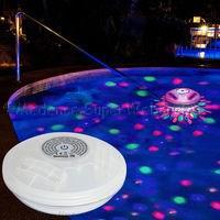 Lebegő medencevilágítás - színváltós LED