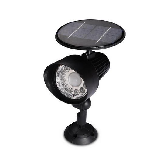Napelemes lámpa mozgásérzékelővel