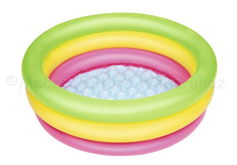 Pancsoló színes gyűrűkkel 70 x 24 cm