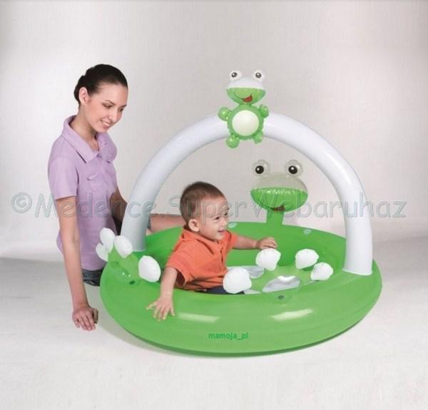 Pancsoló zöld békás 98 cm x 94 cm x 68 cm