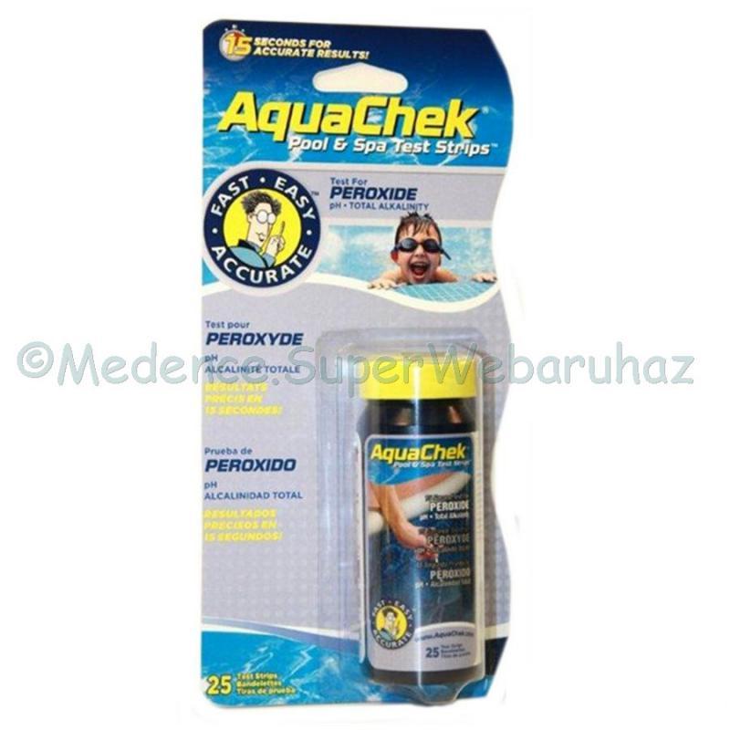 Peroxid- oxigén mérő tesztcsík 3 az 1-ben  vízelemző AquaChek