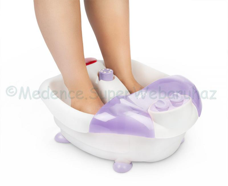 Pezsgő lábfürdő vízmelegítéssel