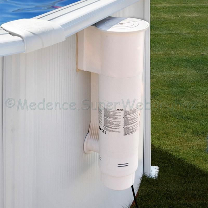 Skimmeres vízforgató fémpalástos medencéhez, 3,8 m3/h GRE