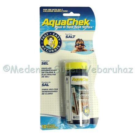 Sótartalom mérő tesztcsík AquaChek