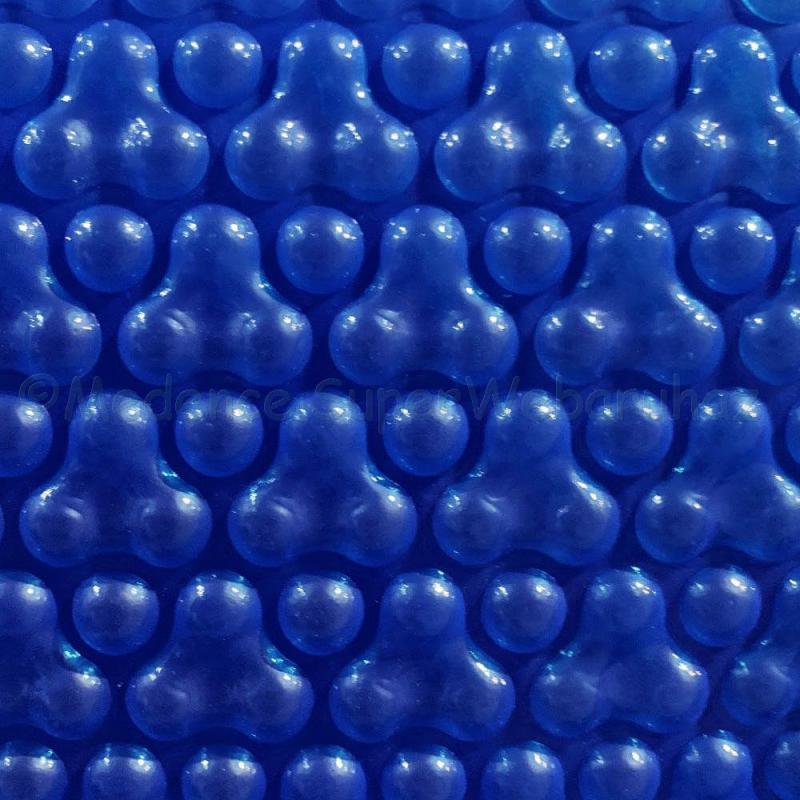 Szolár takarófólia szögletes  5,5 X 11 m, 500 mikron - Tripple Bubble