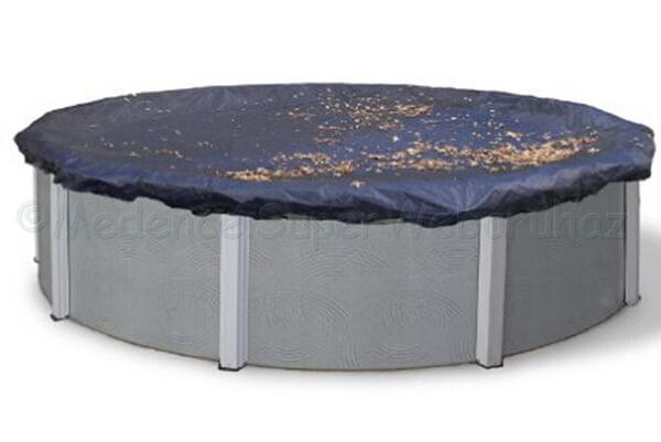 Takarófólia fémfalas 360 cm Ø medencéhez