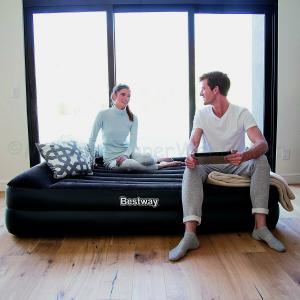 2 személyes komfort felfújható ágy, 203 cm * 163 cm * 48 cm