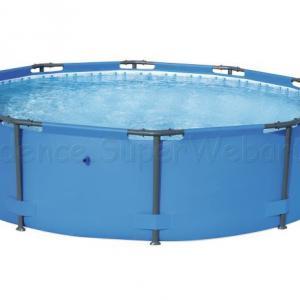 Fémvázas medence 366 cm * 100 cm önállóan