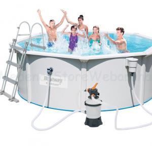 Merevfalú medence készlet homokszűrővel, 360 cm * 120 cm Bestway