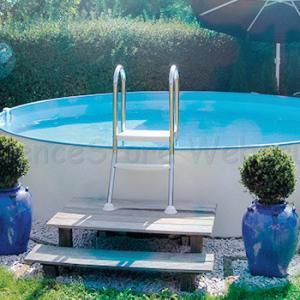 Modena medence 4,0 x 1,2 m, Adria-kék