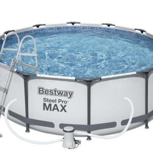 STEEL PRO MAX fémvázas medence 366 cm * 100 cm készlet
