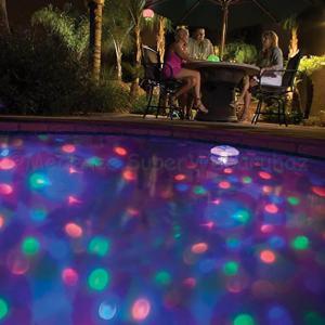 Víz alatti fényshow medencébe, jakuzziba