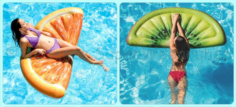 Trendi gyümölcs strandmatrac Intex