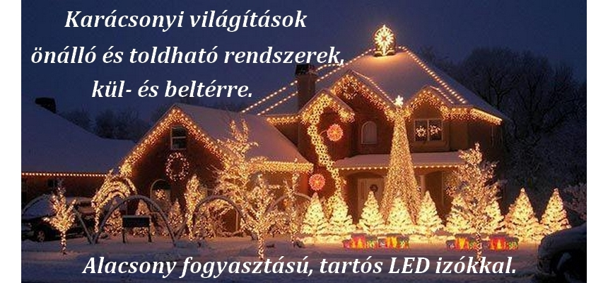 LED világítások