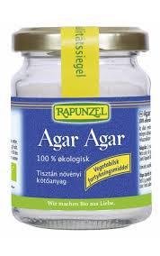 Bio agar agar növényi zselésítő - 30g