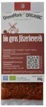 BIO GREENMARK GYROS FŰSZERKEVERÉK 20G