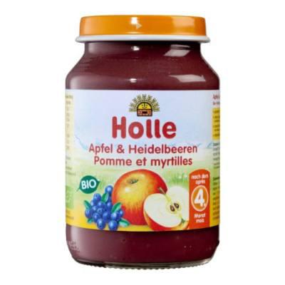 BIO HOLLE BÉBIÉTEL ALMA-FEKETE ÁFONYA 190G