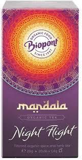 BIO MANDALA TEA NIGHT FLIGHT 20DB